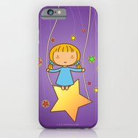 iPhone & iPod Case featuring Starry Night by Pigtails