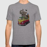 Pack the Trunk Mens Fitted Tee Athletic Grey SMALL