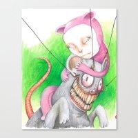 Not Mr. Rat Canvas Print