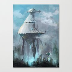 mother ship Canvas Print
