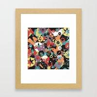 Maximum Joy Framed Art Print