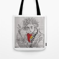 Beethoven In Musica Tote Bag