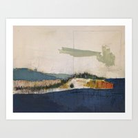 Iron Lake Art Print