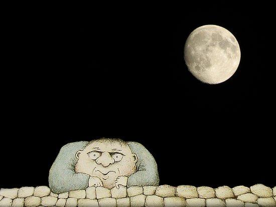 Full Moon Empty Head Gary Larson