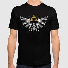 Zelda Hyrule Mens Fitted Tee Black SMALL