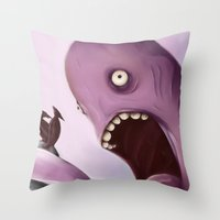 Kraken Throw Pillow