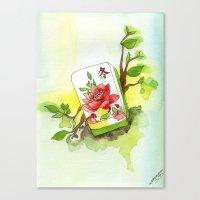 Majong Musing Canvas Print
