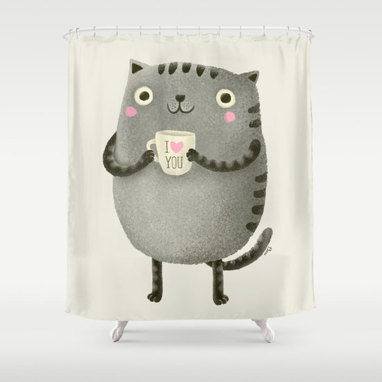 I♥you Shower Curtain