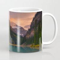 Autumn In Lake Louise Mug