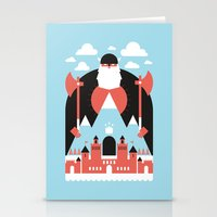 King Of The Mountain Stationery Cards