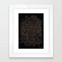 See The Stars Framed Art Print