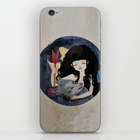 The First Seduction or Big Bad Wolf Having a Big Bad Day iPhone & iPod Skin