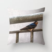 One Swallow Doesn't Make… Throw Pillow