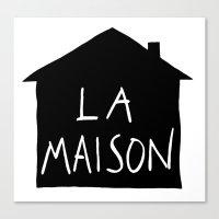 La Maison Canvas Print