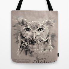 Owl (BornInNature) Tote Bag