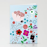 Flowers_5 Stationery Cards