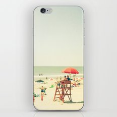 Day at the Beach iPhone & iPod Skin