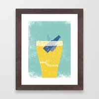 Save the Ales Framed Art Print