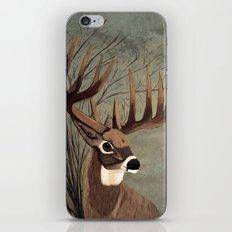 Buck with big racks  iPhone & iPod Skin
