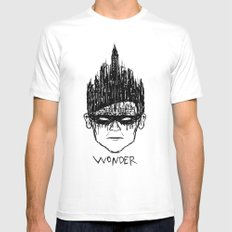 Robin, Boy of Wonder White SMALL Mens Fitted Tee