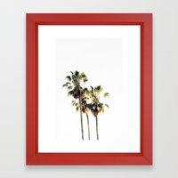 The Palms No. 3 Framed Art Print