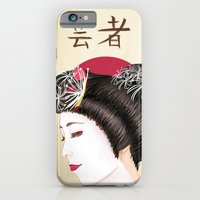 Geisha - Painting iPhone 6 Slim Case