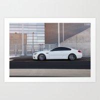 BMW M6 Art Print