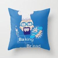 Baking Bread Throw Pillow