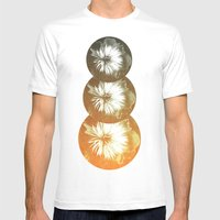 Bad Orange Mens Fitted Tee White SMALL