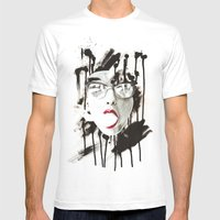 the Ghost Mens Fitted Tee White SMALL