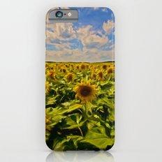 Sunny sunflowers  Slim Case iPhone 6s