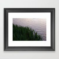 Tranquility: Twilight Wa… Framed Art Print