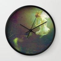 The Angel And The Mermai… Wall Clock