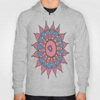 Abstract Sunflower Hoody