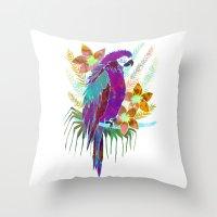 Parrot Elua  - Style A Throw Pillow
