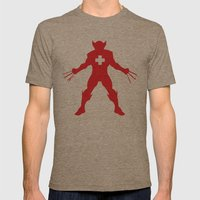 Weapon-Swiss Mens Fitted Tee Tri-Coffee SMALL
