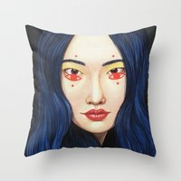 Close Up 9 Throw Pillow