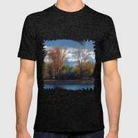 Colors of autumn Mens Fitted Tee Tri-Black SMALL