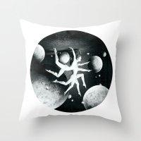Atlas Helix Throw Pillow