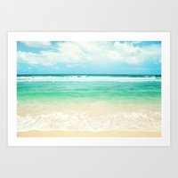 Endless Sea Art Print