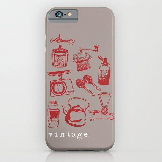 kitchen vintage iPhone & iPod Case