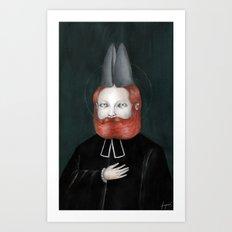 Encarnación: Verbo Divino Art Print