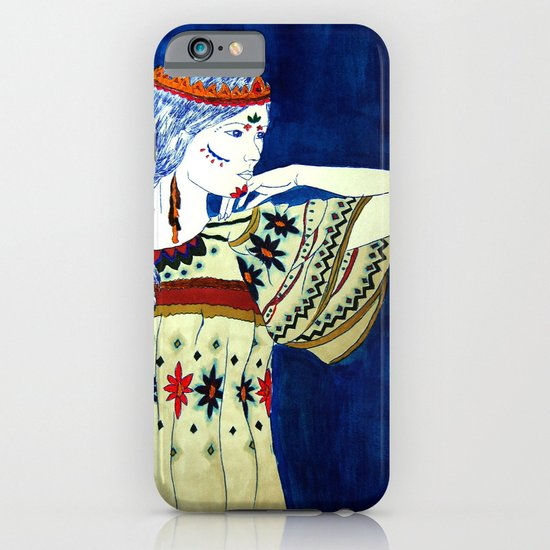 Indian Girl iPhone & iPod Case