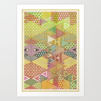 A FARCE / PATTERN SERIES… Art Print