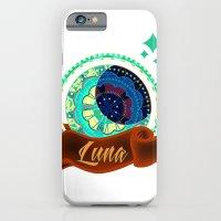 iPhone & iPod Case featuring Luna by Amanda Jonson