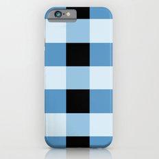 Blue Squares iPhone 6 Slim Case