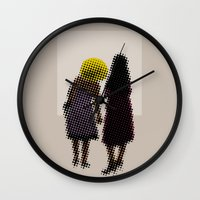 She Tried, But All She C… Wall Clock