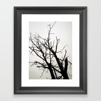 Fell In Fall Framed Art Print