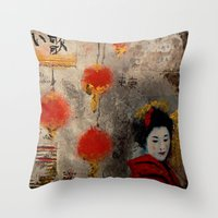 TOKYO SAD SONG - PART. Throw Pillow