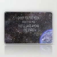 Shoot For The Moon Laptop & iPad Skin